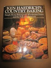 VINTAGE 1990 KEN HAEDRICHS COUNTRY HOME BAKING WHOLESOME GRAINS BREAD PIES CAKE
