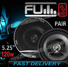 "FLI Underground FU5 5.25"" 130mm 120w 2 Way Car Door Coaxial Speakers Set - Pair"