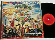 earth wind & fire LAST DAYS AND TIME U.S. orig. 1972 gatefold TOP! LP Vinyl 12""