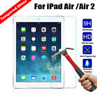9H Premium Tempered Glass Screen Protector Film For Apple iPad 5/6 & Air 1/2