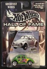 Hot Wheels Hall Of Fame Greatest Rides Green Volkswagen Beetle New 2002