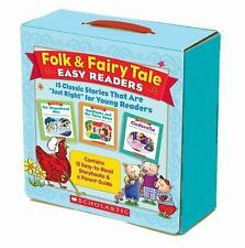 "Folk and Fairy Tale Easy Readers Pack : 15 Classic Stories That Are ""Just..."