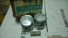 Marusho Lilac Motorcycle 125cc V-TWIN Piston&Ring with Pin 0.20 NOS TJS Japan