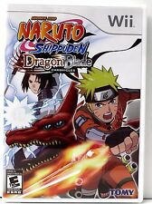 Naruto Shippuden: Dragon - Nintendo Wii Video Game (2010) - COMPLETE - Disc Mint