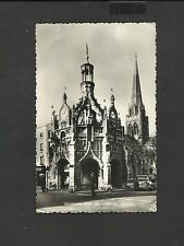 Vintage B/W  Real Photo Postcard Chichester Cross and Cathedral posted 1966