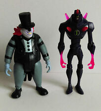 Ben 10 Figures x 2 -  CHROMASTONE and ZOMBOZO