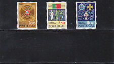 PORTUGAL SET LEAGUE OF FIGHTERS (1973) MNH (**)