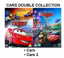 CARS PART 1 2 ORGINAL DISNEY Double Collection BRAND NEW AND SEALED UK R2 DVD