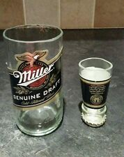 Miller glass and shot glass secret santa stocking filler novelty gift idea