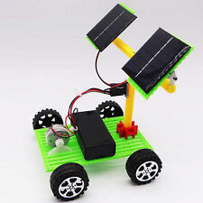 make solar panel toys Children's puzzle assembled DIY science and technology