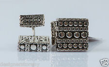 JOHN HARDY Men's Dot Sterling Silver Square Cufflinks