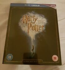 Harry Potter  Complete 8 Film Collection 2016 Edition blu ray unsealed