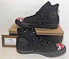 CONVERSE WOMENS SIZE 7.5 CHUCK TAYLOR ALL STAR HI UNION JACK ENGLAND UK SHOES