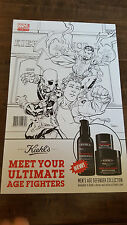 2016 SDCC COMIC CON EXCLUSIVE KIEHLS MARVEL CUSTOM POSTER ULTIMATE AGE FIGHTERS