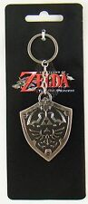 BRAND NEW ZELDA HYLIAN SHIELD METAL KEY CHAIN LICENSED KEY CHAIN