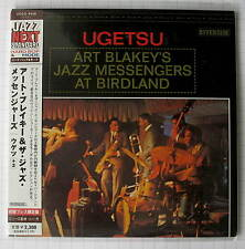 ART BLAKEY'S JAZZ MESSENGERS AT BIRDLAND - Ugetsu JAPAN MINI LP CD OBI NEU!