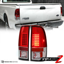 1997-2003 FORD F150 Red LED Tail Lights Brake Lamps 99-07 F250 SD F350 F450 F550