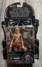Star Wars Black Series Chewbacca #11 blue 3.75 inch action figure
