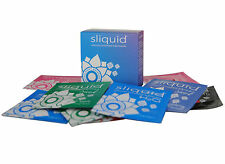 SLIQUID NATURAL LUBE CUBE PILLOW SAMPLE TRAVEL PACK  5ml 12 Packets