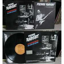 PIERRE RAPSAT - Un Coup De Rouge, Un Coup De Blues LP Pop Blues Rock Belgium