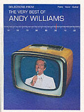 Selections from The Very Best of Andy Williams-Piano/Vocal/Guitar-Music Book Ver