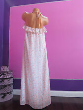 NEW $128 Victoria's Secret!! FLOWER PRINT Maxi Dress SIZE:MEDIUM