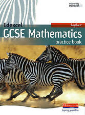 Edexcel GCSE Maths Higher Practice Book by Pearson Education Limited...