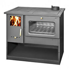 Wood Burning Stove Cooking Log Burner High Efficient Oven New Made in EU 9 kw