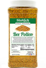5 lb 100% PURE BEE POLLEN GRANULES Natural Gluten Free Fresh Best Raw on SALE