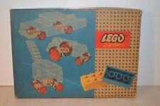 01085 LEGO Basic Model vintage - Large & Small Wheels + Turn Table 314-2 + BOX