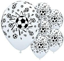 """SOCCER Sports Ball World Cup Game (6) 11"""" Birthday Party Decor LATEX Balloons"""