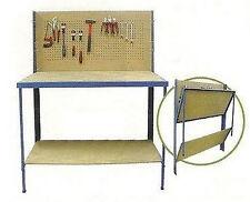 PLIANT ETABLI TABLE MURAL RANGEMENT OUTIL OUTILLAGE ATELIER GARAGE NEUF 04