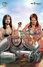 Grimm Fairy Tales OZ #1 I Variant Big D Comics Kickstarter Exclusive Zenescope