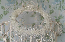 Gypsophila Bridesmaid Baby's Breath Wedding Flower Vintage Crown Circlet