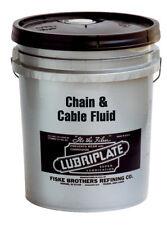 Lubriplate CHAIN & CABLE FLUID, Petroleum-based Oil, L0135-035, 35 LB PAIL