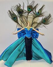 OUTFIT ~ BARBIE DOLL BIRDS OF BEAUTY PEACOCK WHIMSICAL DRESS GOWN ENSEMBLE