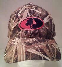 MOSSY OAK Brand Shadow Grass Camo Camouflage Duck Hunting Velcroback Cap Hat