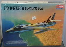 Hawker Hunter F.6 1/48 Scale Model Construction Kit Factory Sealed