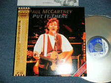 PAUL McCARTNEY BEATLES Japan 1989 Laser Disc+Obi PUT IT THERE