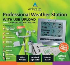Weather Station Wireless USB UV Light - FREE 30 Page Setup/Maintenance eBook