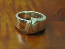 925 Sterling Argento Anello/in puro argento/8,3g/RG 56