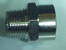 "3/8 Bsp Male  to 1/2""Bsp Female Reducing Bush Pneumatic air                 b 92"