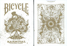CARTE DA GIOCO BICYCLE KARNIVAL GOLD,poker size