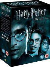 HARRY POTTER Complete 1-8 Movie Collection DVD Box Set Films 1+2+3+4+5+6+7+8 New