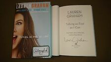 Signed Book Lauren Graham Talking As Fast As I Can From Gilmore Girls 1/1 HC DJ