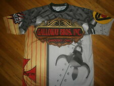 GALLOWAY BROS INC 7 JERSEY SHIRT Brothers Sandusky Iron Men Steel Scrap Metal