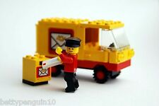 Lego 6651 Town Post Office Van - 1 Minifig