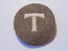 Canadian Armed Forces T TRADESMAN khaki qualification trade badge