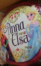 FROZEN FOREVER ELSA & ANNA GIRLS FILLED CUSHION PILLOW HOME OR BEDROOM DECOR