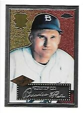 PREACHER ROE BROOKLYN DODGERS 2002 TOPPS GOLD 1952 REPRINT #52R-11